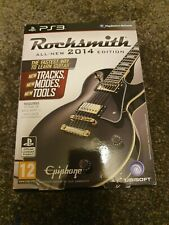 Rocksmith & 2014 Playstation 3 Game Bundle Ps3 Real Tone Cable