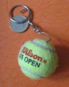 Tennis Mini Ball Keychain Wilson U.S. Open  Keyring