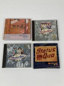 Status Quo Cd Album Bundle Collection Job Lot X4