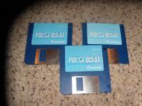 "Police Quest Atari ST Program 3.5"" disks"