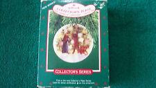 Hallmark Ornament  1987 PLATE/LIGHT SHINES AT CHRISTMAS #1