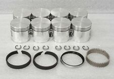 Federal Mogul Ford Mercury 292 Y-Block Pistons+Rings Moly F100 Thunderbird +040