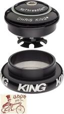 "CHRIS KING INSET 7 BLACK 1-1/8""--1.5"" 44MM THREADLESS BICYCLE HEADSET"