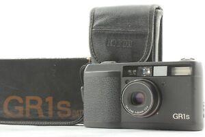 【NEAR MINT / LCD Works in Box】 RICHO GR1s Black Point & Shoot 35mm Camera JAPAN