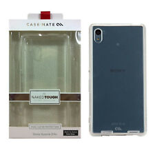 Case-Mate Naked Tough Dual Layer Protection Case With Bumper for Sony Xperia Z4v