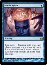 MINDS AGLOW Commander 2011 MTG Blue Sorcery RARE