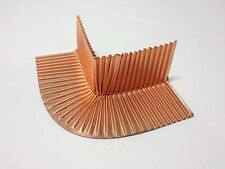 4 Pack,Corner Flashing Shingle, Copper, Flash-Rite, Flex, Roof, Fireplace