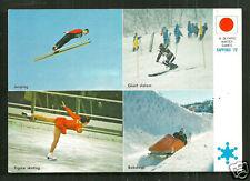 1972 Olympic Winter Games Ski Jumping Bobsleigh Slalom Figure Skating Japan
