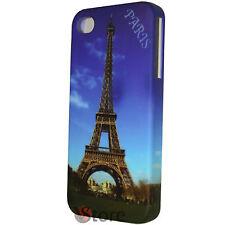Cover Custodia Rigida Per iPhone 4/4S Pariggi Tour Eiffel + Pellicola Display