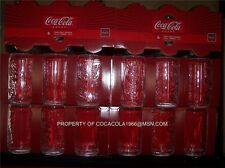 Coca Cola Glass Coke Can Shaped Glasses Tumbler 12 oz