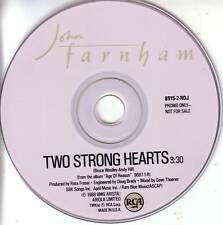 Little River Band JOHN FARNHAM Two Strong PROMO DJ CD Single 1988 USA MINT