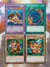 Yugioh Set Thousand Dragon Baby Dragon Time Wizard Polymerization Joey Wheeler