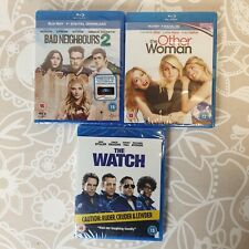 Bundle Of 3 Bluerays Movies Bad Neighbours Watch Other Woman BRand New Sealed