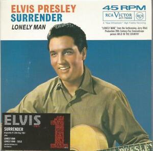 Elvis Presley - Surrender UK limited edition numbered CD single