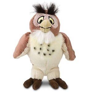 Disney Medium Bean Bag Winnie the Pooh Wise Owl Plush Soft Stuffed Toy 30 cm