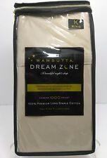 Wamsutta Dream Zone 1000 Thread Count PREMIUM COTTON King Pillowcases -- Taupe