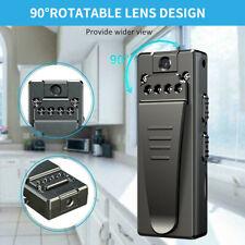 1080P HD Motion Camcorder Mini Polizei Körperkamera Video DVR IR Nacht Cam