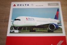 Herpa 558815 - 1/200 airbus a350-900 xwb-Delta Air Lines-nuevo