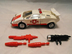 TRANSFORMERS GENERATION 1, G1 AUTOBOT FIGURE MEXICAN (IGA) RED ALERT COMPLETE