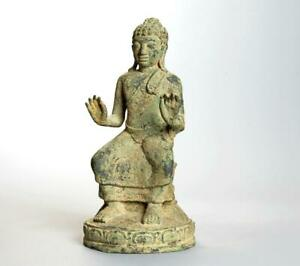 Bronze Statue of Buddha with provenance: 17th/18th Century