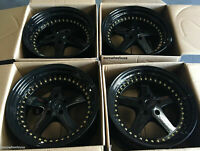 "ESR SR04 Black Wheels18x9.5 5x100 +22 Fit FRS TC XD BRZ Impreza 18"" Rims Set 4"