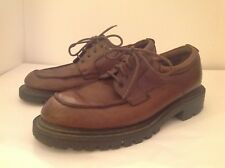 Banana Republic Traveler Loafer Shoes Mens 11.5 M Warren Brown Leather Lace Up