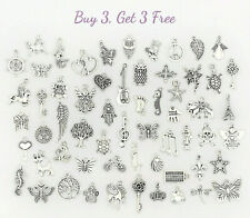 Buy 3 Get 3 Free! Dangle Charms for Bracelets, Necklaces, DIY Jewelry Pendants G