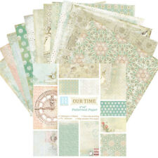 "24 Sheets 12 Patterns DIY 6""single-sided Background Paper For Album Scrapbook"