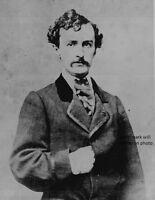 "John Wilkes Booth, assassin of Abraham Lincoln 8""x 10"" Civil War Photo #145"