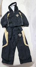 New Orleans Saints Nfl Team Apparel 2 Piece 2T Toddler Hooded Wind Suit Jogging