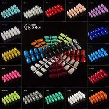 False Fake Nails Full Nail tips acrylic  French artificial nails art  glue
