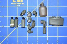 1:6 Military US Smoke Grenades Flashlight Canteen Claymore (Lot of 13) C-166