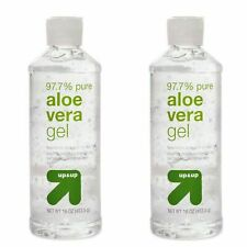 Aloe Vera Gel - 2 Bottles Clear - Total 32 OZ. - FREE Priority Same Day Shipping