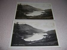 """1920s Thirlmere and Helvellyn """"Home of the Breezes"""" Uk. Real-Photo Postcard Lot"""