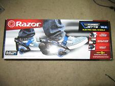 Razor Turbo Jetts Electric Heel Wheels - Dlx Blue with Lighted Wheels New box