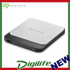 Seagate 500 GB Fast SSD Portable External Solid State Drive for PC and Mac STCM