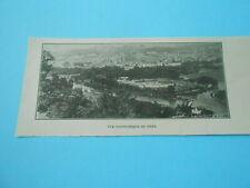 Vue Panoramique de Metz 1923 Image Print