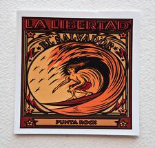 "EL SALVADOR Surfer Surfing Stickers Decals 4""x 4"" Epic Surf Breaks La Libertad"