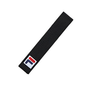 FILA Taekwondo Black-Belt/Martial arts Black-Belt/Karatedo Belt/Width 4cm