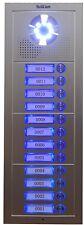 Video Intercom Lobby Unit 12-Button Door Camera for 4-wire video doorphones