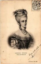 CPA Comtesse d'Artois Royalty Nobelty (315340)