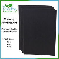 Conway AP-1512HH Premium Replacement Carbon Filters