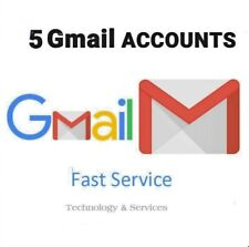 ✅ 5 USA Gmail Google Accounts ✅  For Only 3.6 ✅