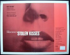 Stolen Kisses Baisers Voles half sheet movie poster 22x28 Francois Truffaut