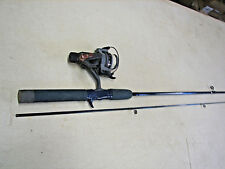 Freshwater Spinning Rod and Reel Rod-Storm 6'  2 pc  Reel- Eagle Claw