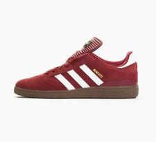 Adidas Busenitz Zapatillas Zapatos Sneaker Burgundy para Hombre Blanco Goma Tamaño UK9 C75230