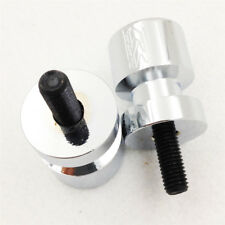 Swingarm Spools For 2001-2011 2009 2010 Suzuki GSXR600/750 GSX-R 1000 CHROME