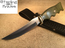 "9-1/4"" Overall Schrade+ USA 153UH Fixed Blade Knife Customized By J.S. Johnston"