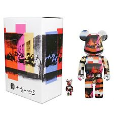 Medicom Bearbrick 100% 400% Set Andy Warhol The Last Supper Be@rbrick - New Rare