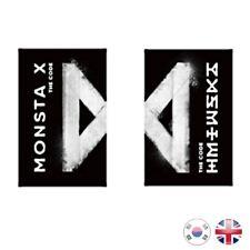 [NEW + SEALED] MONSTA X 5th Mini Album THE CODE PROTOCOL Kpop K-pop UK